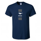 Dark Navy Soft Cotton Ford Mustang 50 Years Mens T shirt available S-3XL