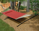 Monte Carlo Outdoor Patio Double 2-Person Quilted Hammock