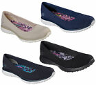 Womens Skechers Microburst-One Up Slip On Walking Sports Trainers Sizes 4 to 8