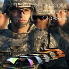 Durable Tactical Outdoor UV400 Protection Police Shooting Glasses Sports Cycling