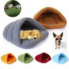 Pet Dog Cat Nest Bed Puppy Winter Warm Soft Cave House Sleeping Bag Mat Pad XS-L