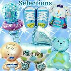 SELECTIONS BABY GIRL BOY SHOWER Foil Balloons Decor Birthday Party Supply lot C