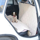 Pet Car Seat Cover Padded Dog Hammock Bench Protector Mat Auto Rear Back Blanket