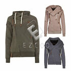 Damen Mode Sweatjacke Zip Hoodie Kapuzenjacke Jacke Sweat Shirt Kapuze