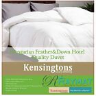 HUNGARIAN GOOSE FEATHER AND DOWN DUVET QUILT LUXURY HOTEL QUALITY 9 TOG 85/15