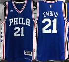 JOEL EMBIID PHILADELPHIA 76ERS AWAY SWINGMAN NEW 2016/17 NBA JERSEY NWT
