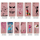 "For Huawei P9 Lite (5.2"") Soft TPU Gel Silicone Cover Case Transparent Flexible"