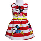 Toddler Baby Girls Minnie Mouse Party Dress Kids Summer Cartoon Clothes Outfits