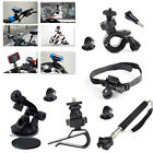 Extendable Handheld Monopod Bike Handlebar Suction Cup Mount for Action Camera