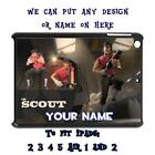 PERSONALISED IPAD TO FIT 2 3 4 5 AIR CASE COVER UNOFFICIAL TEAM FORTRESS TF2