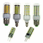 LED Corn Bulbs 5W 7W 12W 18W Light E12 E27 G4 3014/2835/5730 SMD Warm/Cool White