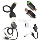 HDMI Male to VGA Female Video Converter Adapter Cable for PC DVD...