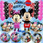 SELECTIONS MINNIE & MICKEY Foil Balloons & Party Supplies Birthday Shower lot MD