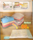 joblot 84 packs Travel storage vacuum roll Bags good for camping carboots