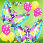 BUTTERFLY Bugs Insects Balloons Animals Decor Shower Birthday Party Supply lot B