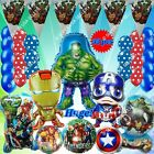 PARTY SETS AVENGERS MARVEL HERO Foil Balloons Shower Birthday Party Supply lot C