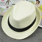 The Trend Of Men's And Women's Like British Holiday Hat Shading Woven Straw Hats