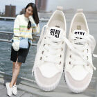 Lady Athletic Sneakers Lace Up Sports Shoes Running Walking Trainers Casual Shoe
