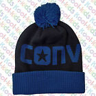 Converse Winter Knit Beanie Style Hats with Pom Poms!  - All colours - BNWTS