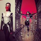 NEW 2017 Lady Silk Spiderman With Mask Cindy Moon Halloween Cosplay Costume