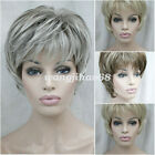 New Ladies Natural Short wig Straight Women Hair Fancy Dress Cosplay wigs