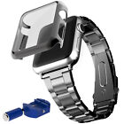 Metal Strap Watch Band+ Case Cover +Tool Kit For Apple iWatch Series 2 '38/42mm'