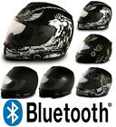 Vcan V136B Blinc Bluetooth Full Face Motorcycle Helmet - DOT