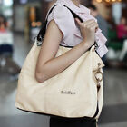 NEW Fashion Ladies Tote Shoulder Bag  Faux Leather Handbag Messenger Large Purse