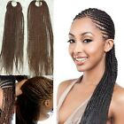 Lady 40cm Long Wavy Curly African Crochet Twist Braids Hair Extension Hairpieces
