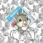Disney Animals Cute Adult Colouring Book French Kittens Puppies Bunny
