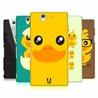 HEAD CASE DESIGNS KAWAII DUCK HARD BACK CASE FOR SONY PHONES 3