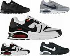 MENS NIKE AIR MAX COMMAND 629993 BLACK WHITE TRAINERS SIZES UK 6 - 12