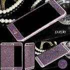 Luxury Bling Glitter Sticker Full Body Case Cover Skin For iPhone 6 6s 7 Plus