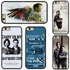 Sam Dean Winchester TV Series Supernatural Phone Case Cover For iPhone Samsung