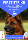 Generic Program, Flea Control for LARGE Dogs 60 to 125 Lbs 100 Flavored Capsules