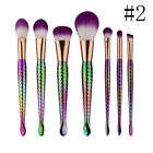 12pcs Mermaid Make Up Brush Set Foundation Brushes Kabuki Makeup Brush Tool Kit
