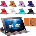 "Folio 360° Leather Case Cover For Universal Android Tablet PC 7""-10"" New Hot"