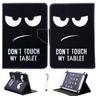 """US Stock For RCA 7"""" 10"""" 10.1"""" Tablet PC Universal Leather Stand Case Cover +Gift"""