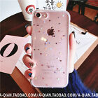 Bling Bling five-pointed star Glitter Soft TPU clear Case For iPhone6/6S/7/7Plus