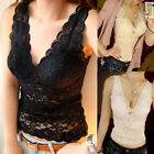 Fashion Women Summer Lace Vest Sleeveless Shirt Blouse Casual Tank Tops T-Shirt
