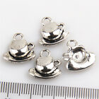 Lot 30/150Pcs Coffee Cup Tea Cup #5 Charms Pendants Beads Jewelry Making 15mm