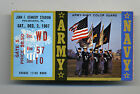 1967 Army VS. Navy College Football Ticket Stub Game at JFK Stadium Phila.