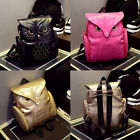 Fashion Women Shoulder Bag PU Leather Zipper Bag Satchel Backpack Embossed