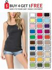 Zenana TANK TOP Long CAMI Layering Spaghetti Strap Basic S/M/L USA Seller