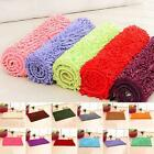 Absorbent Soft Shaggy Non Slip Bath Mat Bathroom Shower  Floor Rugs Carpet LACA
