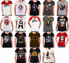Suicide Squad T Shirt Womens Daddys Lil Monster Harley Quinn joker skinny fit