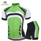 Mens New Sport Team Cycling Jersey Sets Bike Bicycle Top Short Sleeve Clothing