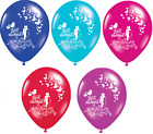 "JUST MARRIED COUPLE 12"" PREMIUM PEARLISED HELIUM WEDDING PARTY BALLOON BALLOONS"