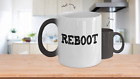 REBOOT - Color changing coffee / tea mug - fun