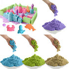 Kid Child DIY Colorful Kinetic Magic Sand Indoor Play Craft Handmade Toy Gift
